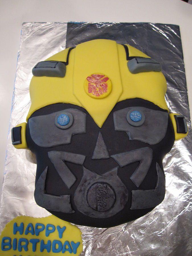 Bumblebee Transformer Cake Pops