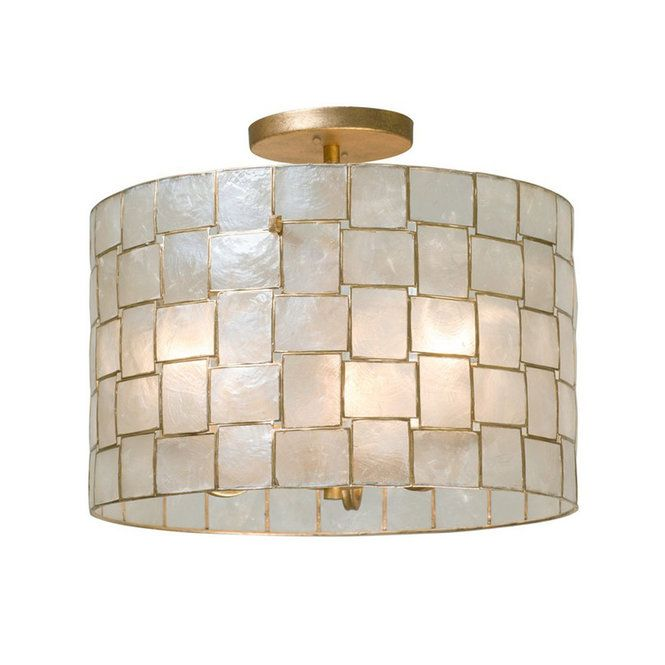 Captiva Shaken Shell Ceiling Light Ceiling Lights Flush Mount Ceiling Lights Semi Flush Ceiling Lights