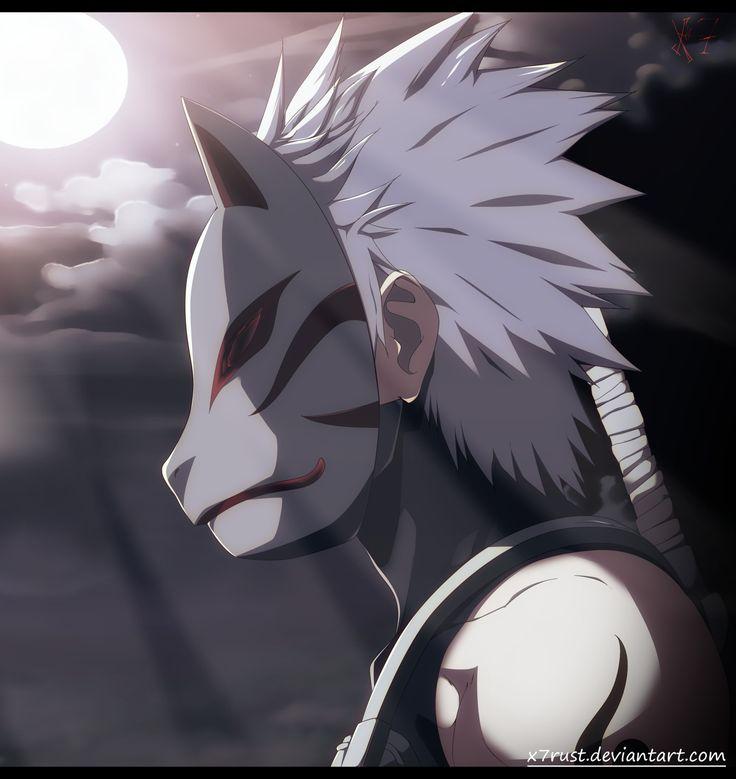 Naruto - Kakashi chronicles by X7Rust.deviantart.com on @DeviantArt   ANBU
