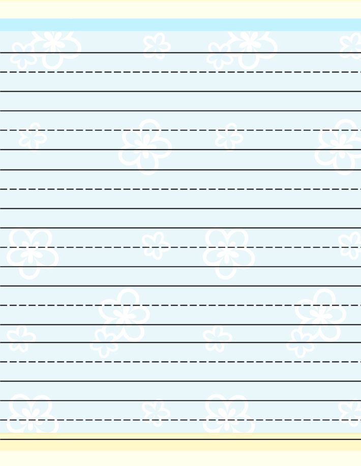 Free Printable Stationery For Kids, Free Lined Kids Writing Paper |  Листочки для блокнота | Pinterest | Free Printable Stationery, Writing Paper  And Free ...  Free Printable Lined Writing Paper
