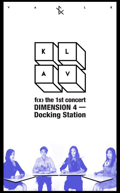 Check out the teaser pictures for f(x)'s 1st solo concert 'Dimension 4' ~ Wonderful Generation