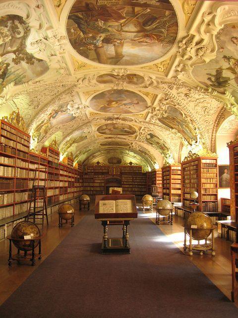 Salle théologique du couvent Strahov