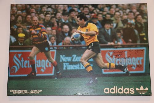 Buy David Campese Signed Posterfor R450.00
