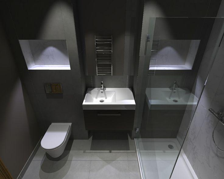 Like Recessed Cubby Holes Amp Vanity Burton Bathroom