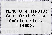 http://tecnoautos.com/wp-content/uploads/imagenes/tendencias/thumbs/minuto-a-minuto-cruz-azul-0-0-america-1er-tiempo.jpg Cruz Azul Vs America. MINUTO A MINUTO: Cruz Azul 0 - 0 América (1er. Tiempo), Enlaces, Imágenes, Videos y Tweets - http://tecnoautos.com/actualidad/cruz-azul-vs-america-minuto-a-minuto-cruz-azul-0-0-america-1er-tiempo/