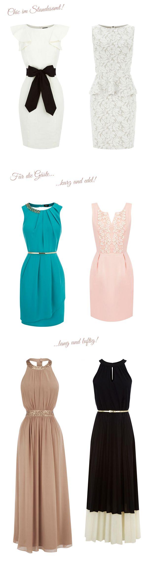 fashion for special occasion by warehouse and oasis ~ kleider von warehouse und oasis  für die hochzeit