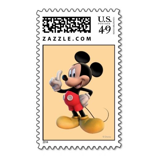 Mickey Mouse Number 1 Stamps. It is really great to make each letter a special delivery! Add a unique touch to invites or cards with your own photos or text. Just click the image to learn more!