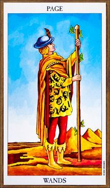Page of Wands - Tarot Card Meaning & Interpretation