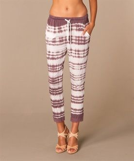 Mellow Rose - Mellow Rose Tie Dye Broek - Nordic/Stone Grey