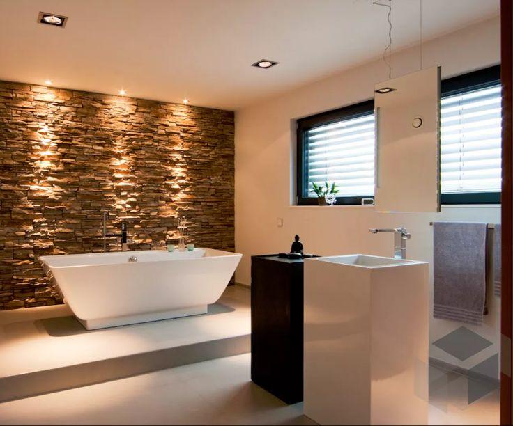 ... Bad Impression | Finde Häuser Von Verschiedenen Anbietern Auf  Www.fertighaus.de ____ #Einrichtung #Interior #Badezimmer #Inspiration  #Badewanne #modern ...