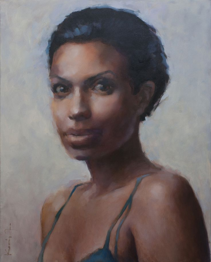 The Girl from Ipanema - oil on canvas, 100x80 cm