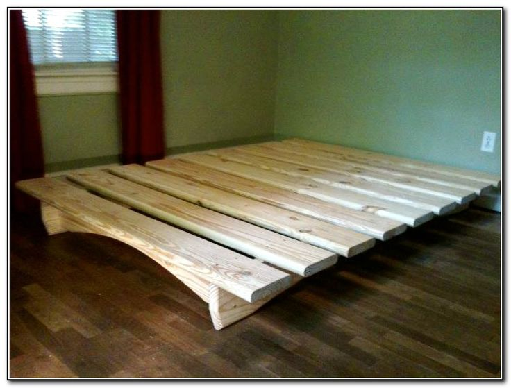 Image result for homemade queen bed