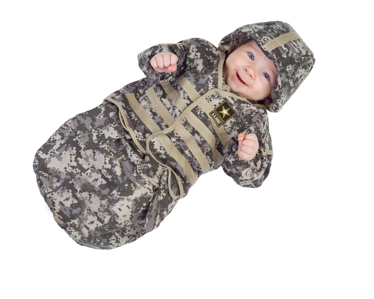 military halloween costume idea us army bunting for baby - Halloween Army Costume
