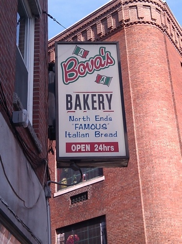 Bova's Bakery  North End Boston  Little Italy - better than Mikes!