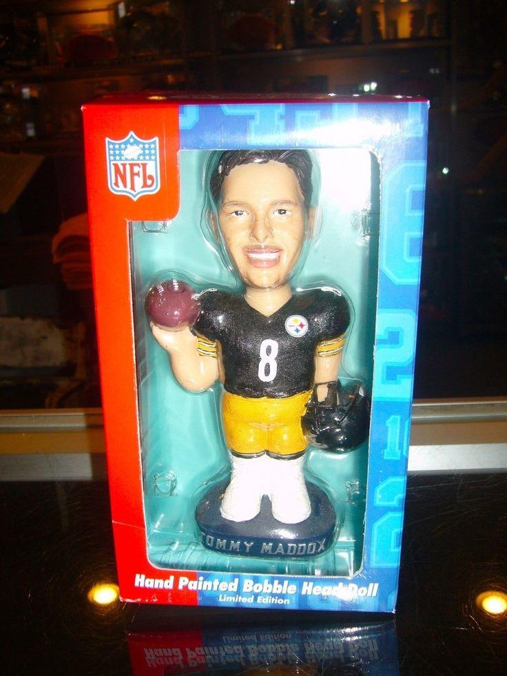 Tommy Maddox Pittsburgh Steelers Bobble Dobbles Bobble Head Doll Nodder Mint | eBay