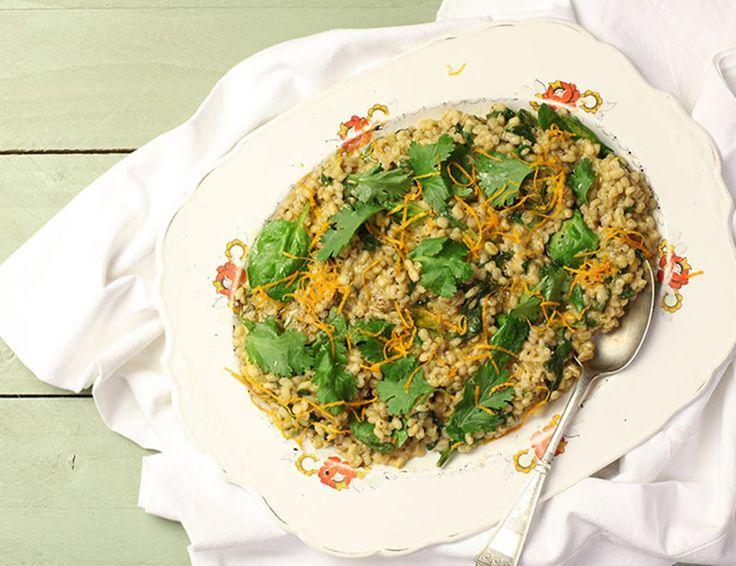 Nice & Spiced Barley Greens Recipe   Abel & Cole