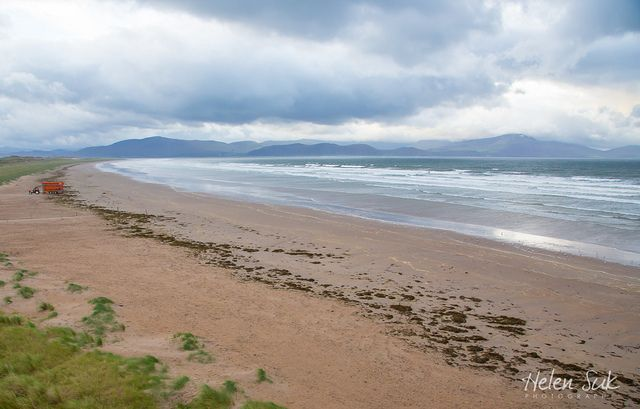 A secluded beach in the Dingle Peninsula, Ireland. Click the photo for more images of Inch Beach in Kerry.