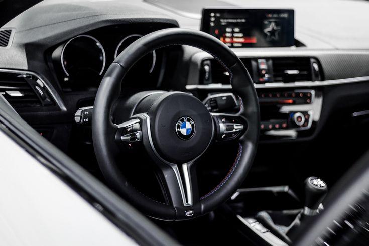 interior BMW F87 M2 alpine white at the 2018 montreal auto show
