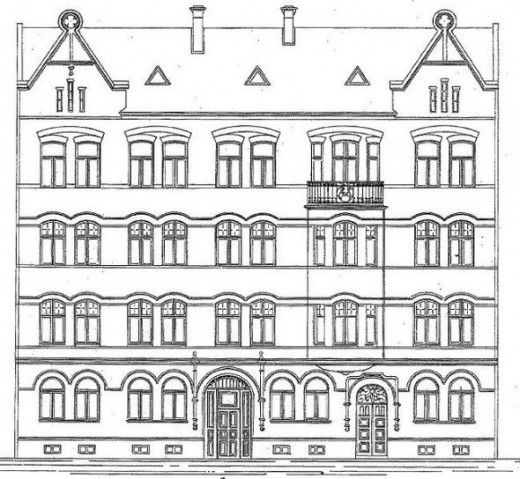 14 best polonia 1800 images on pinterest   architectural drawings ... - Apartment Building Coloring Pages