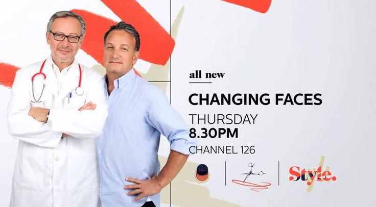 Only a few hours to go before episode 2 of Changing Faces airs on The Style Channel at 8:30pm.