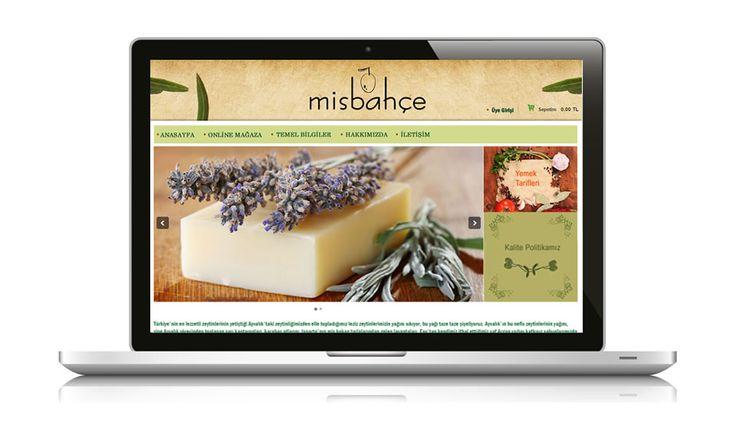 Ülkemizin en geniş naturel sabun yelpazelerinden birine sahip olan Misbahçe web sitesi yayında www.misbahce.com.tr