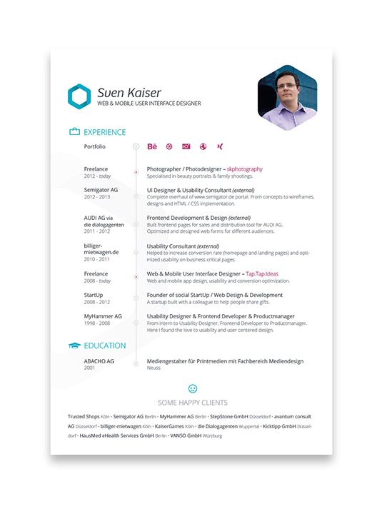 Best Designed Resumes 2014. resume 2014 simple resume examples ...