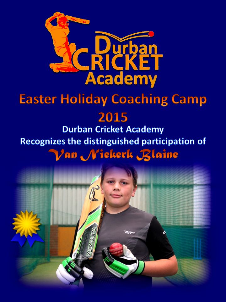 Easter Holiday Coaching Camp