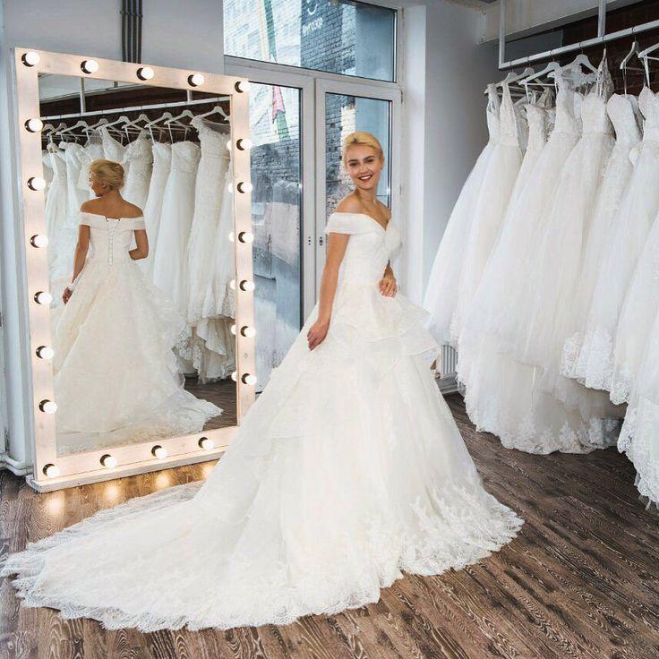 Wedding dress ivory model Magnolia VivaBride