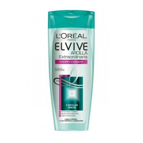Loreal Elvive Extraordinary Clay Rebalancing Shampoo 370ml