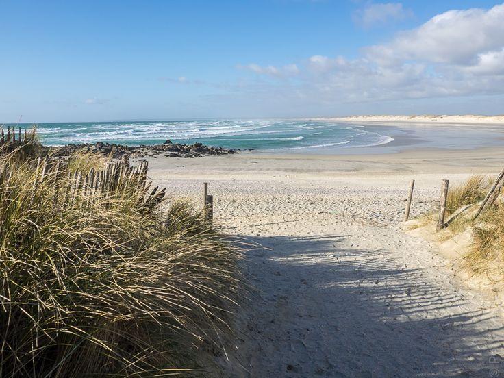 photo en Finistère, Bretagne et...: dunes de la Baie d'Audierne à la fin du jour (8 photos)