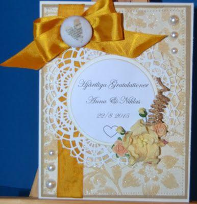 HobbyHelen: Bröllopskort