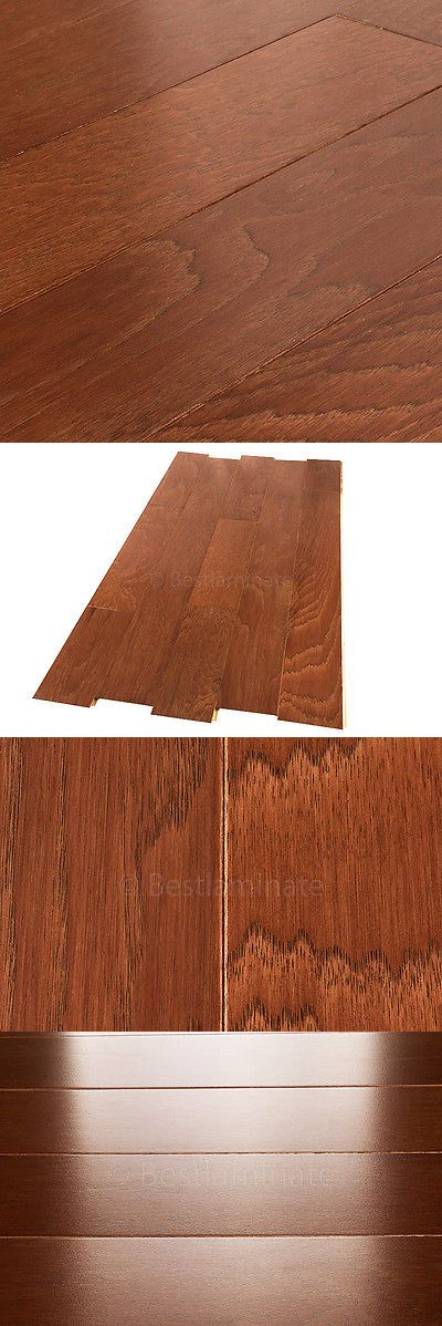 Wood Flooring 84221: Prefinished Engineered Hickory Hardwood Flooring 3 8 X 5-1 4 Allen + Roth -> BUY IT NOW ONLY: $75.1 on eBay!