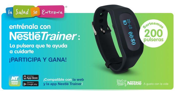 Entra en el sorteo de una pulsera NestléTrainer: ¡Yo ya lo he hecho!