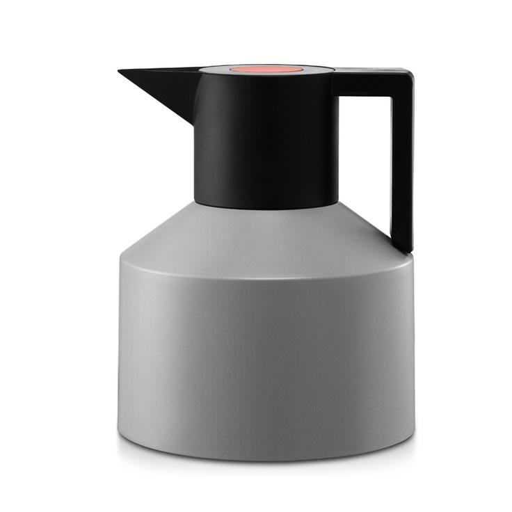 Geo kettle, matte, gray, black, ceramic, plastic