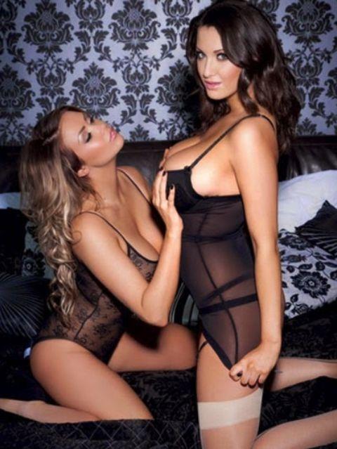 Sexy Lesbian Lingerie 43