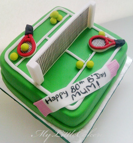 Cake Decorations Tennis : 30 best Tennis cakes images on Pinterest Tennis cake ...