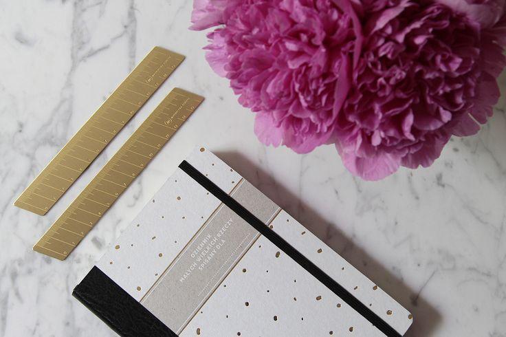 Brass Ruler - Paper Love by Magdalena Tekieli