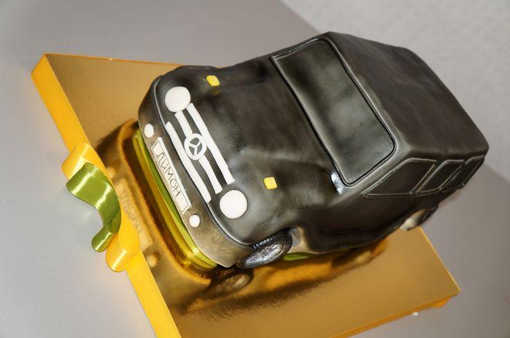 Мерседес #торт_на_заказ_кременчуг #тематические #бисквитный_торт #комбинированный_торт