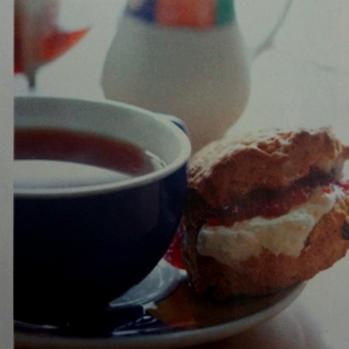 Cemlyn tea shop - Wales as photographed by Kate Sears for Victoria magazine