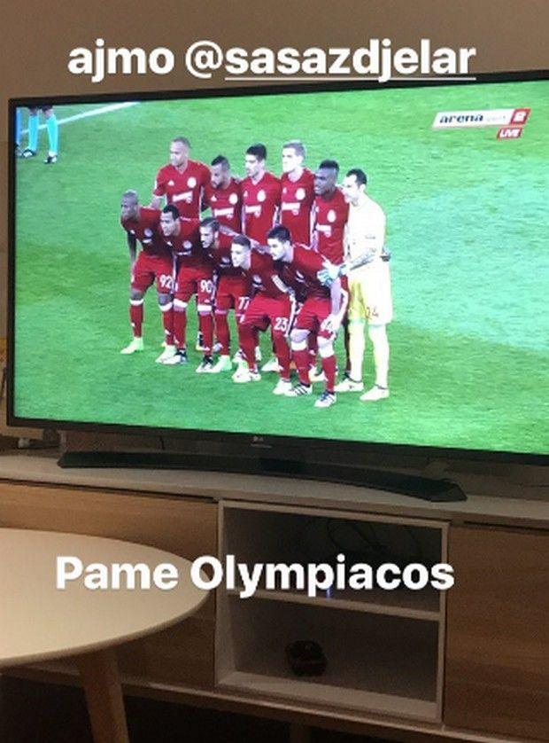 """""""Πάμε Ολυμπιακός"""", η ανάρτηση του Μιλιβόγεβιτς που δεν ξεχνά τη μεγάλη του αγάπη! #Red_White #Olympiacos #Champions_Leaegue"""