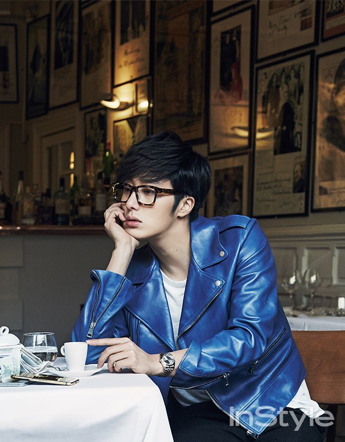 Jung Il Woo is dreamy in Normandy for InStyle's March issue
