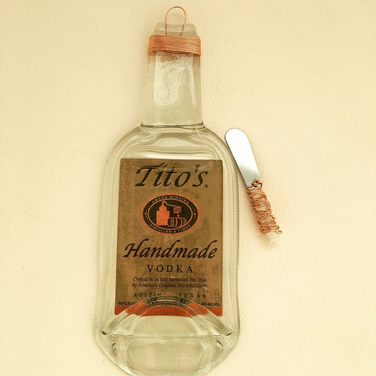 Tito's Handcrafted Vodka glass tray.