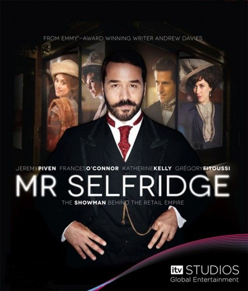 Mr. Selfridge chronicles the exploits of the man who founded the famous high-end Selfridges department store in London, & in doing so, changed our understanding of modern merchandizing.  Mr. Selfridge doesn't ask much of its viewers, but it's a sprawling drama adapted by Andrew Davies (who has adapted pretty much every British miniseries you can think of) from a novel, & the series' sumptuous costume designs & whirling stories are greatly entertaining.