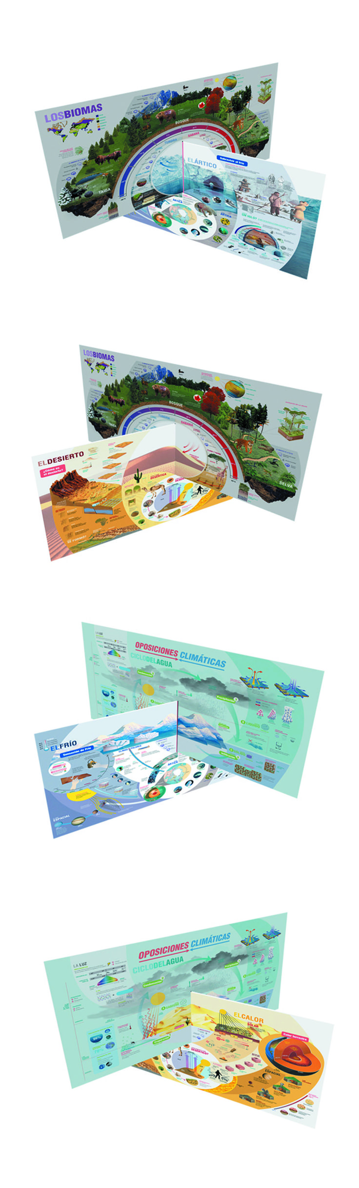 Mega Info - graphic (all pieces together). DG II - Salomone - FADU / UBA.