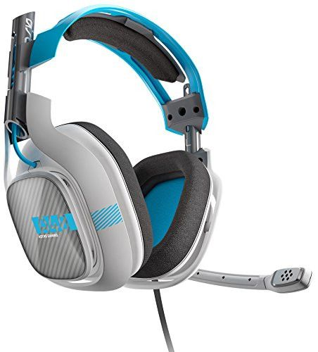 ASTRO Gaming A40 Headset + Mixamp M80 - Light Grey/Blue - Xbox One (2014 model)