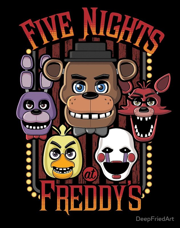 Five Nights At Freddy's Pizzeria Multi-Character