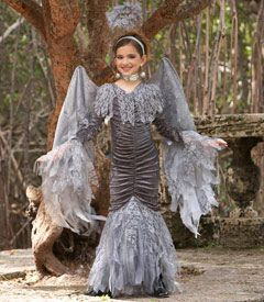 Dark Angel Halloween Costume from Chasing Fireflies (lila)