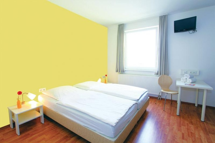 Chambre d'hotel lumineuse.  #AILS #cours #allemand.