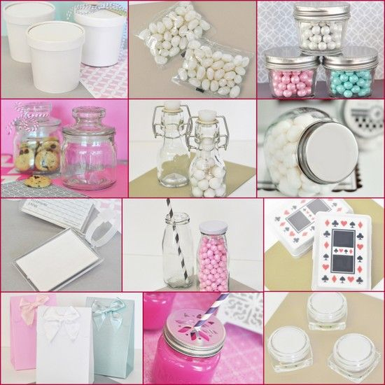 DIY Blank Party Favors from HotRef.com