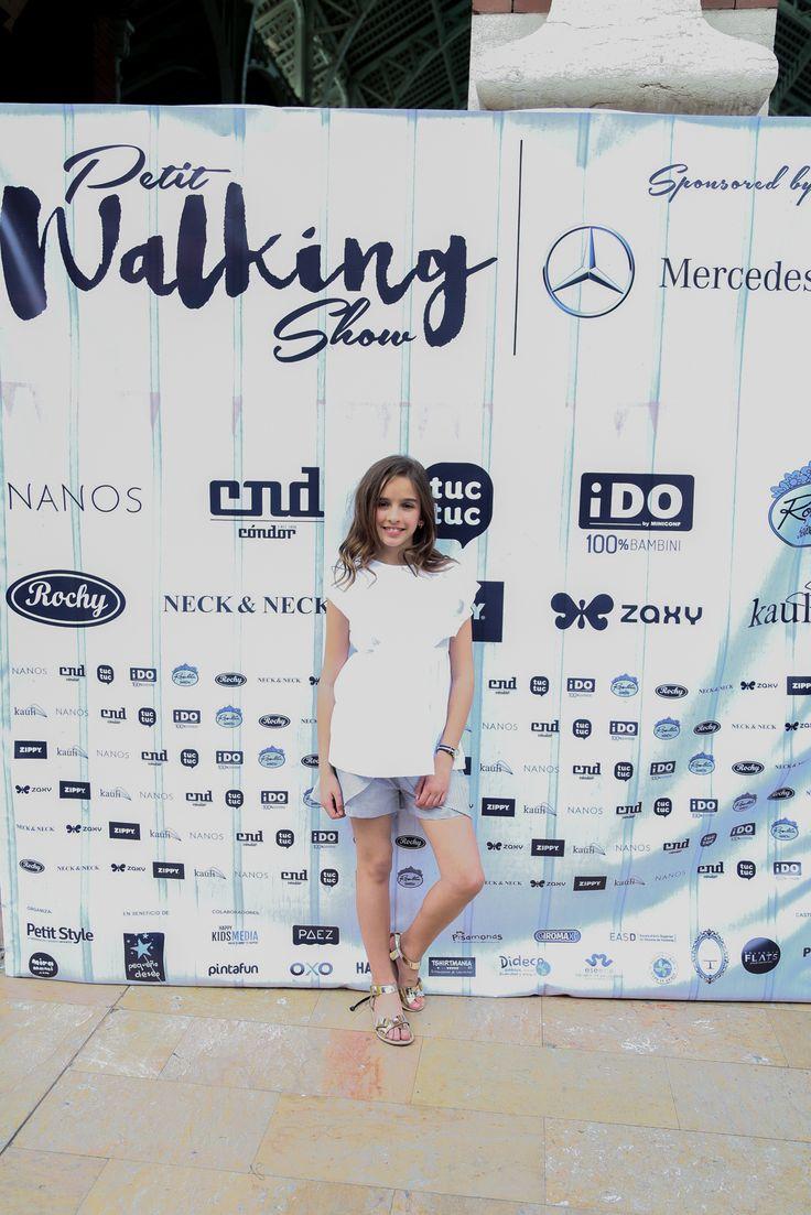María Querol presentadora de Valencia Petit Walking
